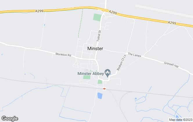 Map for Colebrook Sturrock, Minster