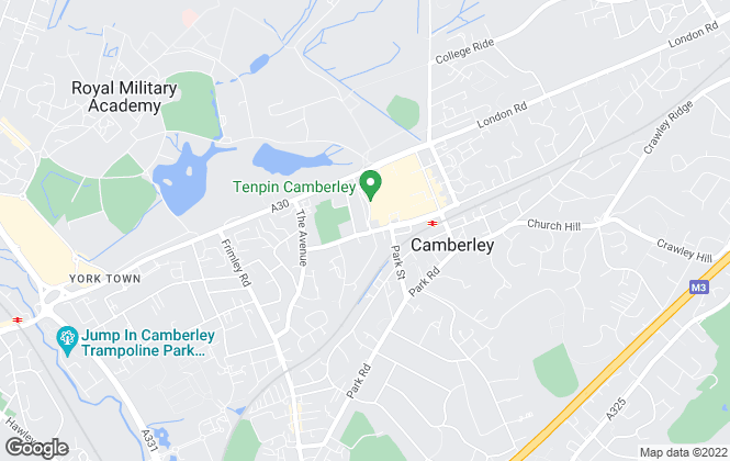 Map for Prospect Estate Agency, Camberley