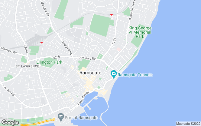 Map for Parkland Estates, Ramsgate
