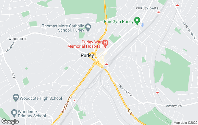 Map for Frost Estate Agents, Purley