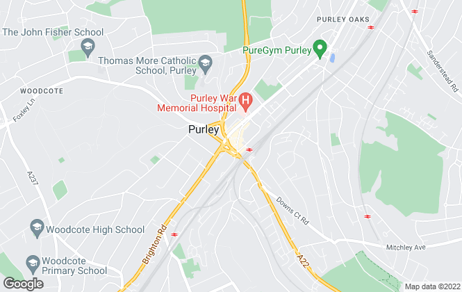 Map for Bairstow Eves, Purley