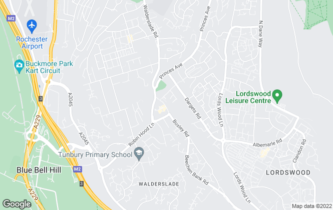Map for Your Move , Walderslade