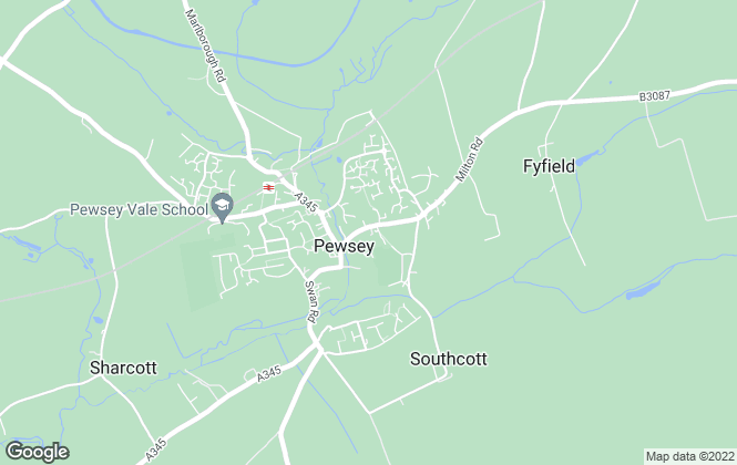 Map for Campbell Property, Pewsey