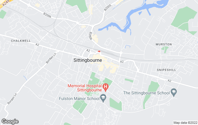 Map for Bairstow Eves, Sittingbourne