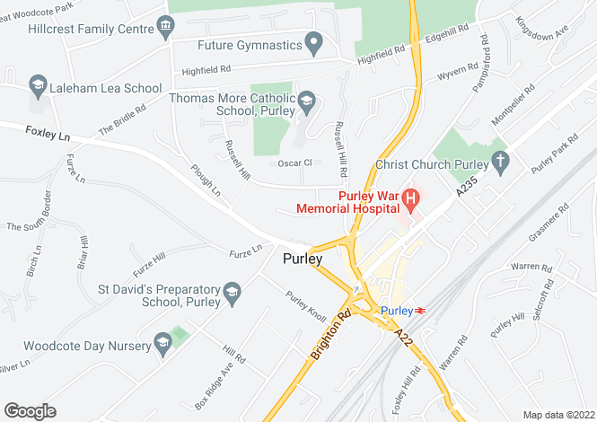 Map for More Close,