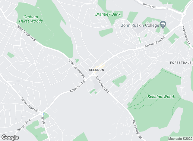 Map for Bairstow Eves, Selsdon