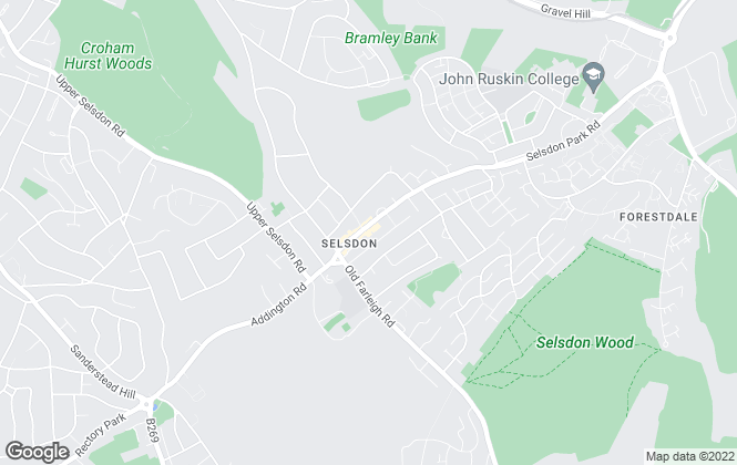 Map for Paul Meakin Estate Agents, South Croydon