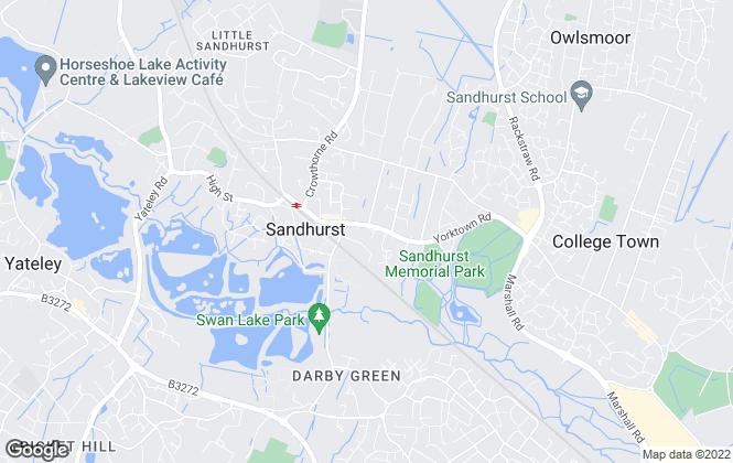 Map for Romans, Sandhurst