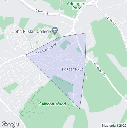 Map of property in Forestdale