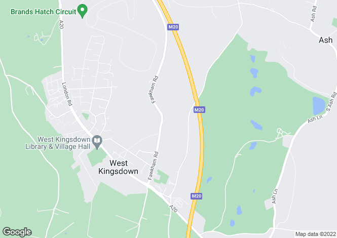 Map for Fawkham Road, West Kingsdown, Sevenoaks, Kent TN15 6AY