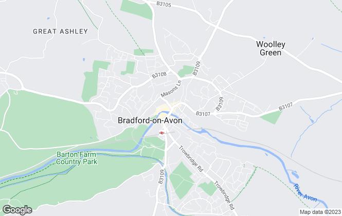 Map for Cobb Farr, Bradford-On-Avon