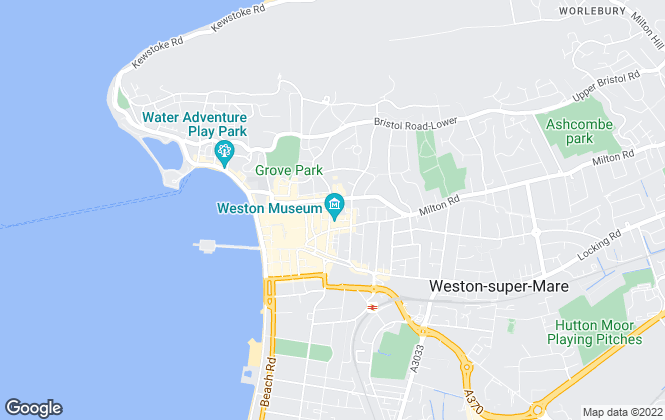 Map for Glentworth Letting Agencies, Weston-super-Mare