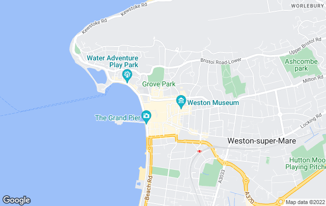 Map for Nightingale Property Sales and Lettings, Weston-Super-Mare