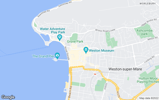 Map for Hobbs & Webb , Weston-super-Mare