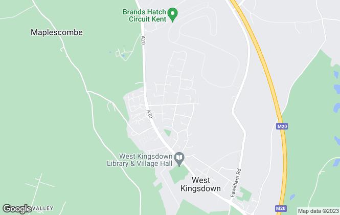Map for Ward & Partners, West Kingsdown