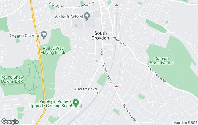 Map for Johnson Hewitt, Croydon