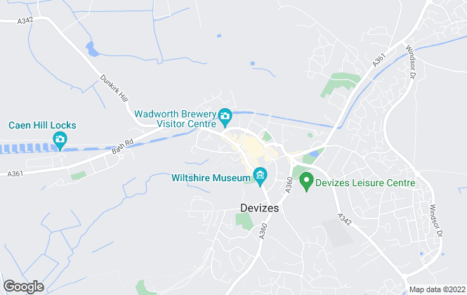 Map for Winkworth, Devizes