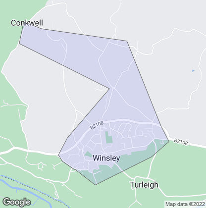Map of property in Winsley