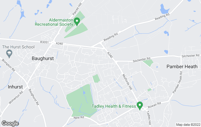 Map for Sansome & George, Tadley