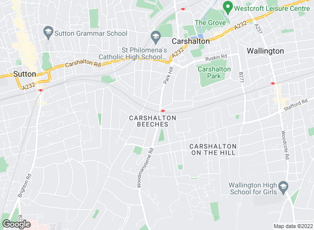 Map for Goodfellows , Carshalton Beeches
