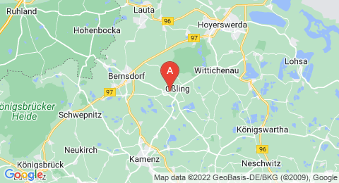 map of Oßlinger Berg (Germany)