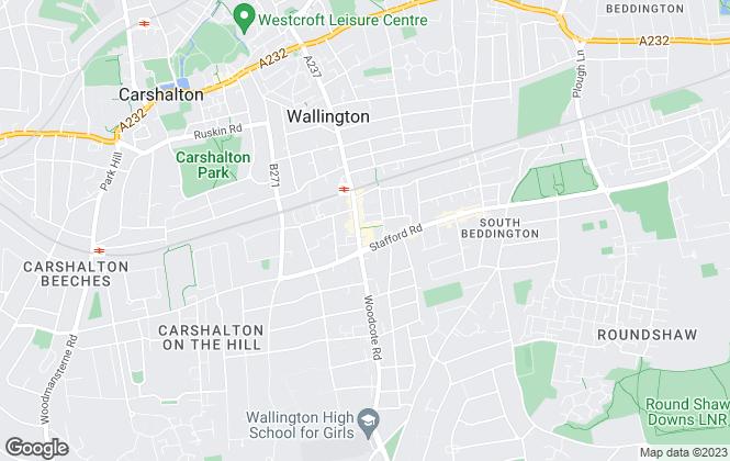Map for Paul Graham, Wallington