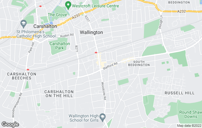 Map for Andrews Estate Agents, Wallington