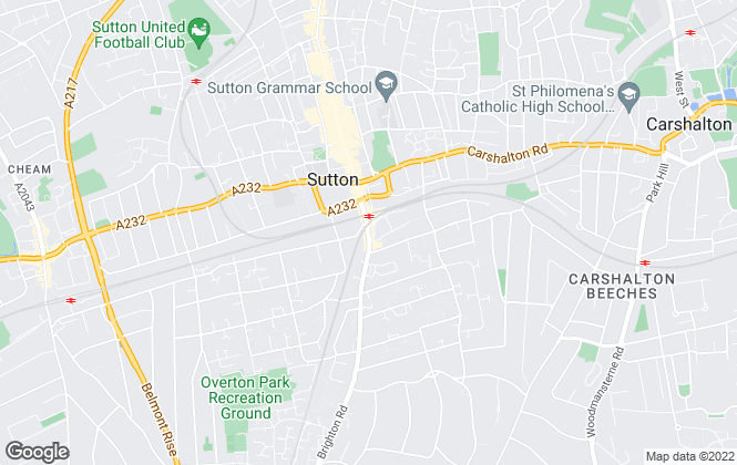 Map for Your Move , Sutton