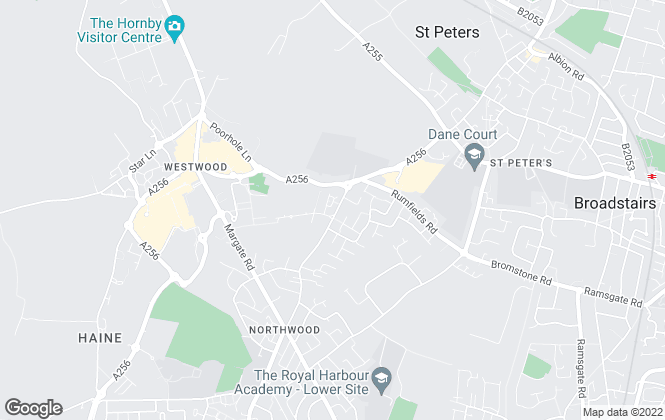 Map for TMS Estate Agents, Kent