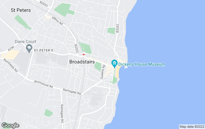 Map for Victor Stewarts, Broadstairs