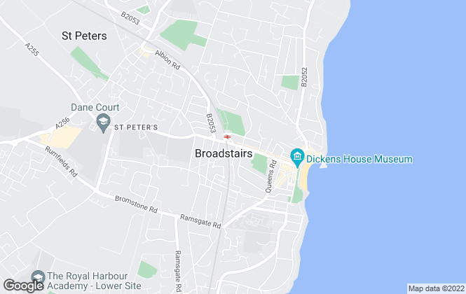 Map for William Charles, Broadstairs
