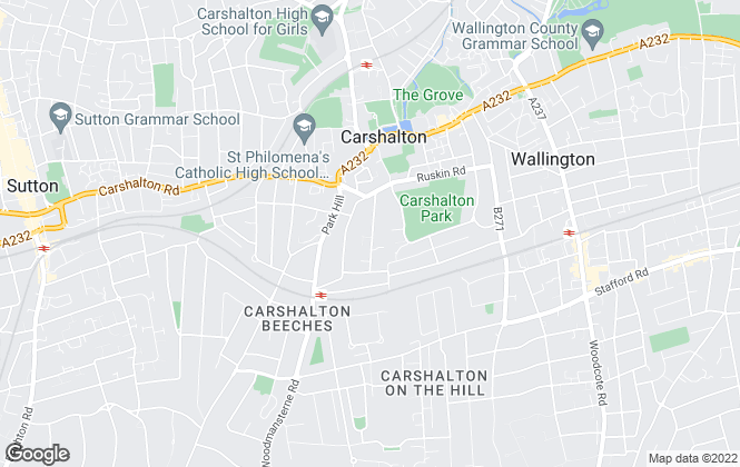 Map for Silverman Black, Carshalton