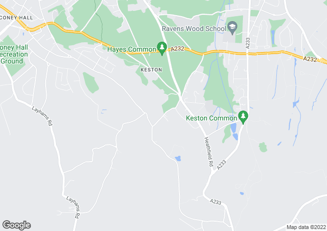 Map for Fox Lane, Keston, Kent, BR2 6AL