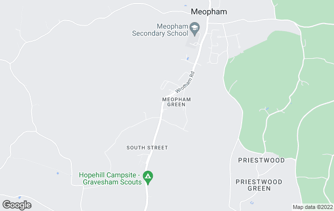 Map for Anthony Martin Estate Agents, Meopham