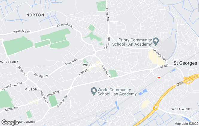 Map for Palmer Snell, Worle