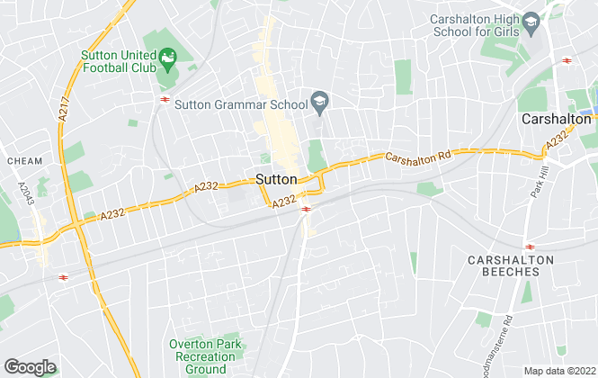 Map for Mann Countrywide, Sutton
