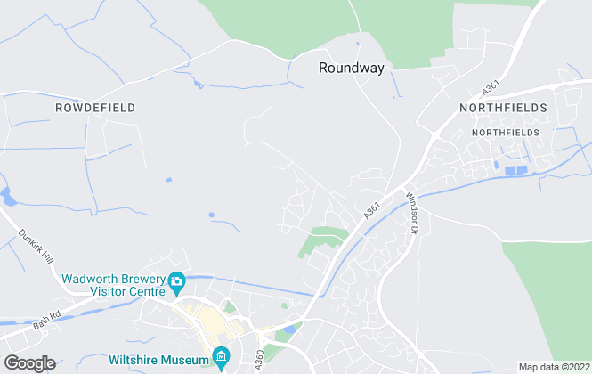 Map for Bellway Homes (South West)