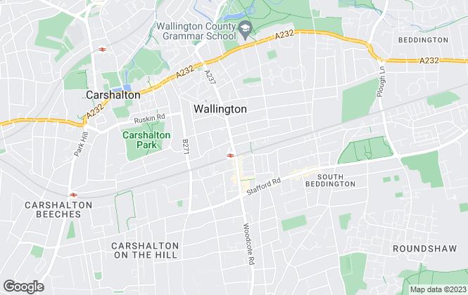 Map for Barnard Marcus, Wallington