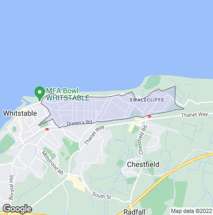 Map of property in Tankerton