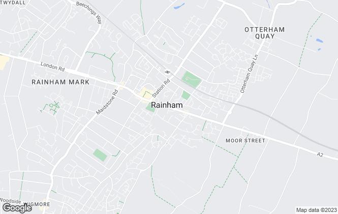 Map for Rainham Homes Ltd, Rainham