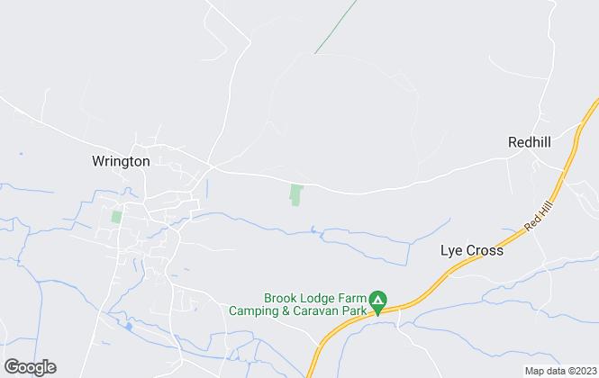 Map for David James & Partners, Wrington, North Somerset