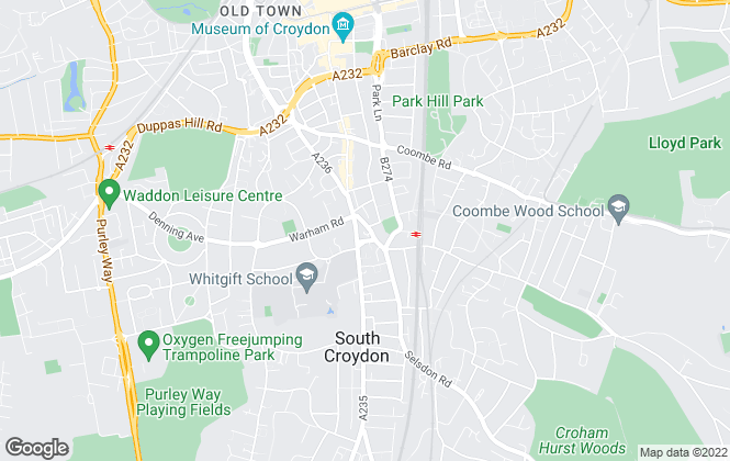 Map for Hyde & Rowe, South Croydon