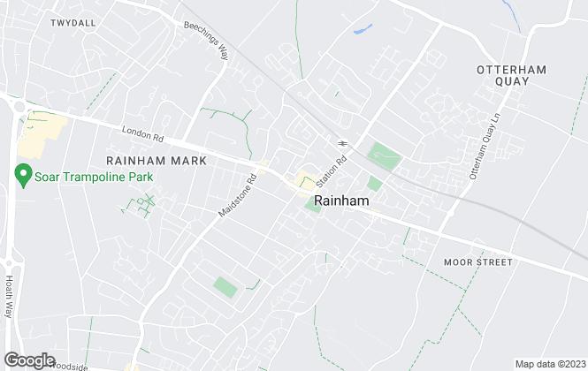 Map for Greyfox Estate Agents, Rainham