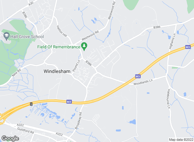 Map for Edwards & Elliott, Windlesham