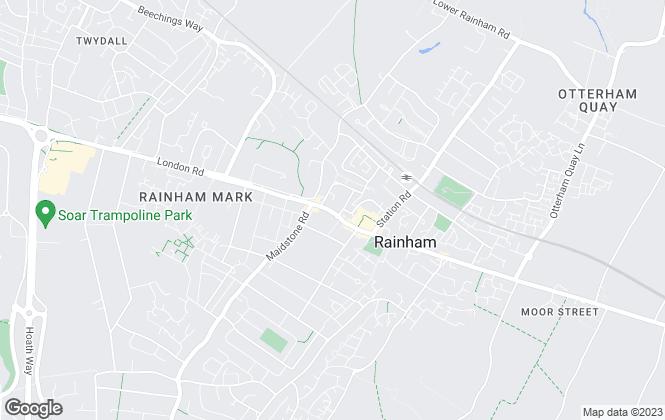 Map for Connells, Rainham