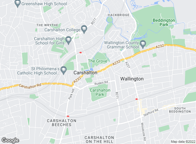 Map for Andrews Lettings and Management, Carshalton