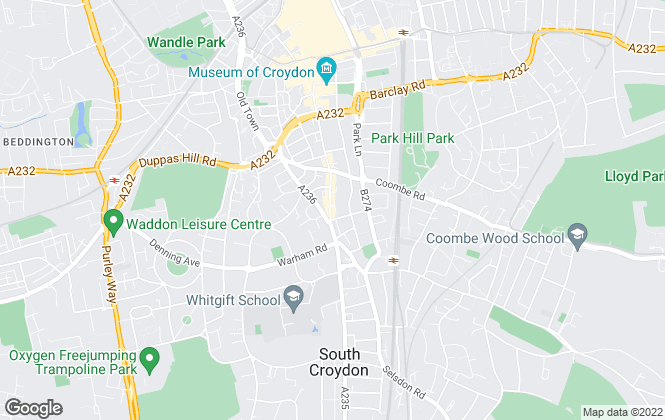 Map for Top Move Estate Agents, Croydon