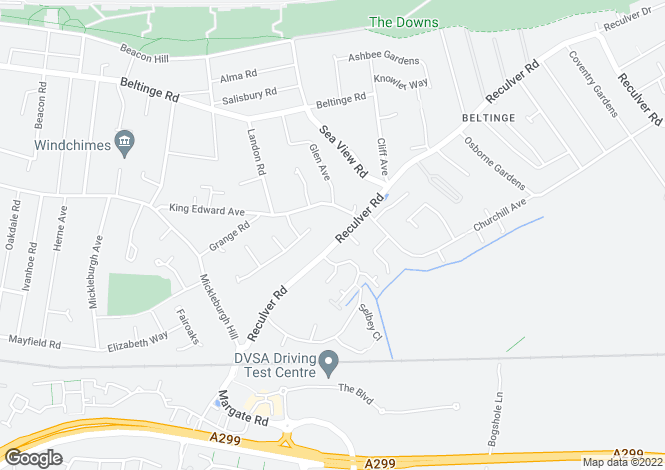 Map for 2591.