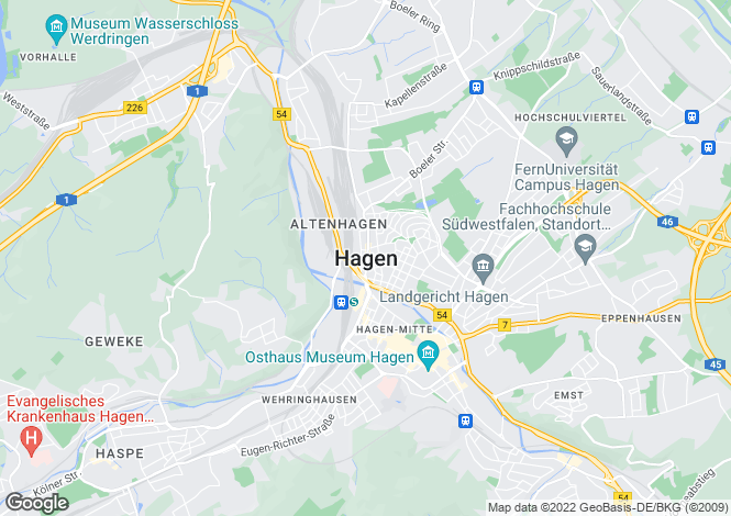 Map for Hagen Lodges, Altaussee, Loser Altaussee, Austria