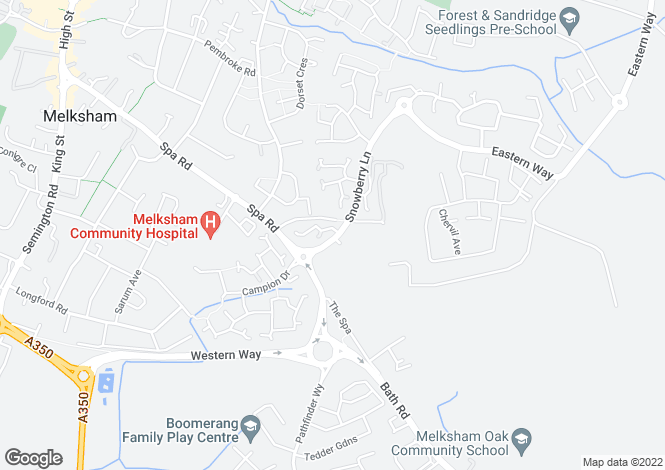 Map for The kingsbury at The Gateway, Snowberry Lane,